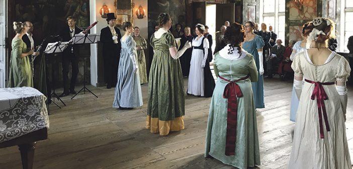 Selsø Slot åbnede sæsonen med empirebal