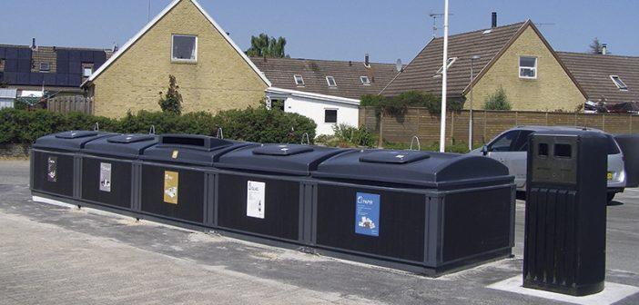 Fem nye nærgenbrugsstationer klar til brug