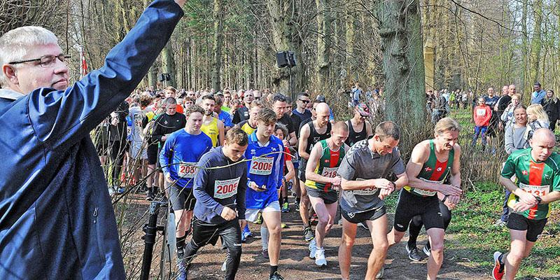Fmd. for Jægerspris Netværk, Søren Bryde skyder ½-marathon igang