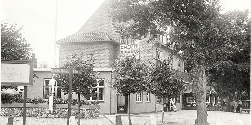 TRÆ poulsens hjørne ca. 1940