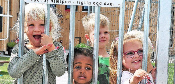 Børnehuset Savannen blev indviet