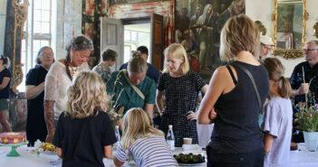 Den Store Kagedag på  Herregårdsmuseet Selsø Slot